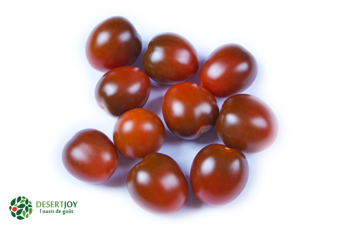 Brown snack tomatoes